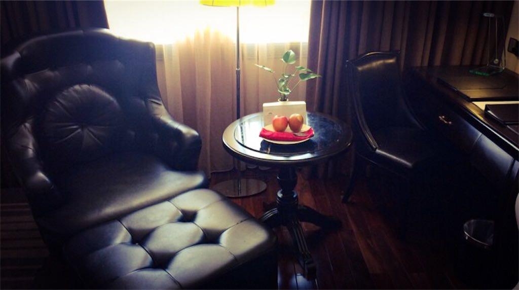 部屋にある椅子
